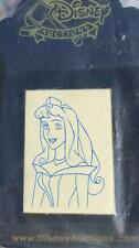 Disney Auctions P.I.N.S. - How to Draw Blue Line Sleeping Beauty Aurora LE Pin