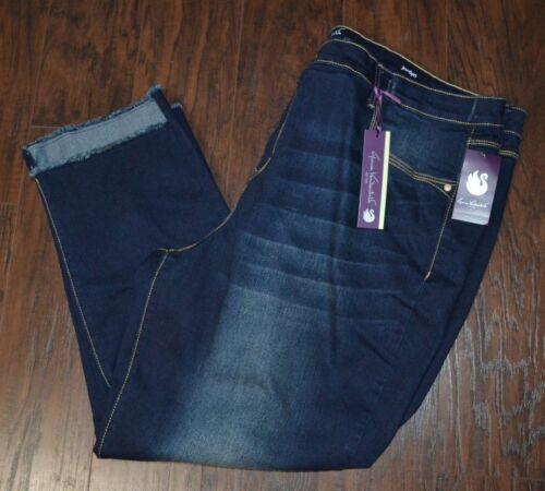 Gloria Vanderbilt Jordyn Tulum Wash Denim Ankle Jeans Cropped Jean Plus Sizes