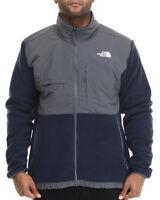 The North Face Mens Denali Fleece Jacket Navy Blue Gray 885929302684