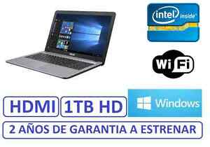 PORTATIL-ASUS-15-034-INTEL-1-TB-grafica-HDMI-1756mb-WINDOWS-WIFI-factura-garantia