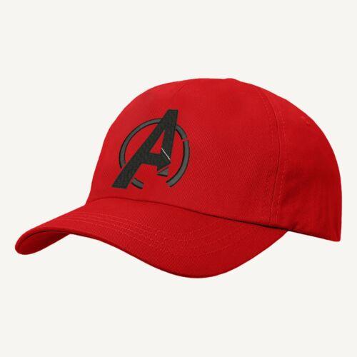 Marvel Superheroes Hat Embroidered Design Avengers Comic Logo Baseball Cap