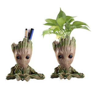 14CM-Groot-Guardians-of-The-Galaxy-Baby-Figure-Flowerpot-Style-Pen-Pot-Kids-Toy
