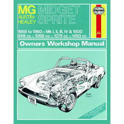 All car manuals products in haynes diy car and automotive repair 0265 haynes mg midget austin healey sprite 58 80 up to solutioingenieria Image collections