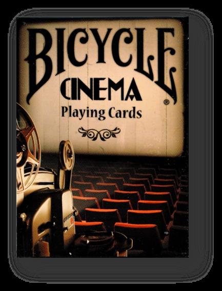 Bicycle Cinema Playing Cards Poker Spielkarten Cardistry
