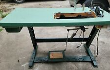 Industrial Sewing Machine Table With Motor Fits Singer Walking Foot
