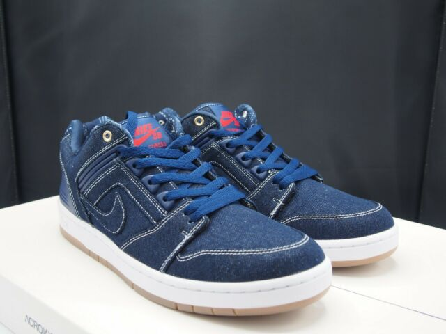 buy online 1a405 eb16f Nike SB Air Force II Low QS East West Rivals Biggie Tupac Size 11 ...
