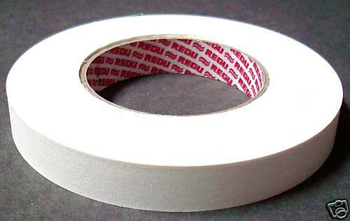 Selbstklebendes Fälzelband Papierband Regutaf 50 m x 30 mm weiss