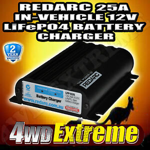 REDARC-LFP1225-LV-LITHIUM-BATTERY-DUAL-BATTERY-ISOLATOR-SYSTEM-DC-TO-DC-CHARGER