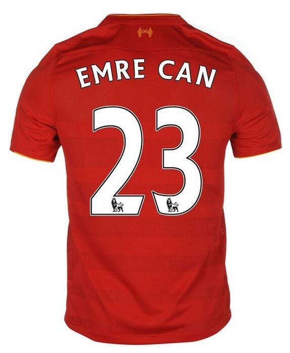 Trikot New Balance FC Liverpool 2016-2017 Home - Emre Can  Klopp  | Neuheit Spielzeug