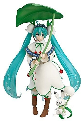 figma EX-024 VOCALOID Snow Miku Snow Bell ver. Figure Max Factory from Japan