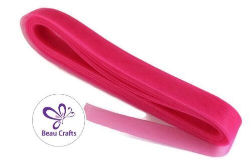 3M 5M 10M Hot Pink Crinoline 3cm Hot Pink Horsehair Braid for Fascinators