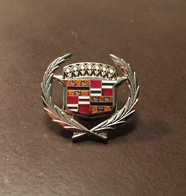 1966 Cadillac vintage General Motors silver ornament pin