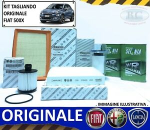 KIT-TAGLIANDO-OLIO-SELENIA-FORWARD-4-FILTRI-ORIGINALI-FIAT-500X-1-6-MULTIJET