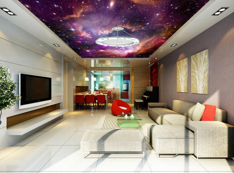 3D Beautiful Clouds Stars 71 Wall Paper Wall Print Decal Wall Deco AJ WALLPAPER