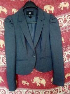 H-amp-M-Petite-Veste-blazer-pour-Femme-taille-36