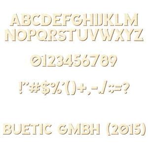 Sperrholz Buchstaben Wunschtext//Schriftzug mit Größenauswahl Anatawa Pappe