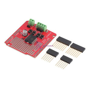 Dual Channel Motor Driver Shield L298P DC Stepper Driver Board For Arduino
