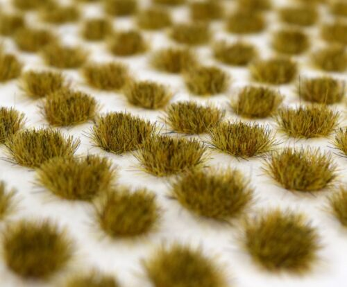 WWS Patchy 4mm Self Adhesive Static Grass Tufts x 100 Model Railway Terrain