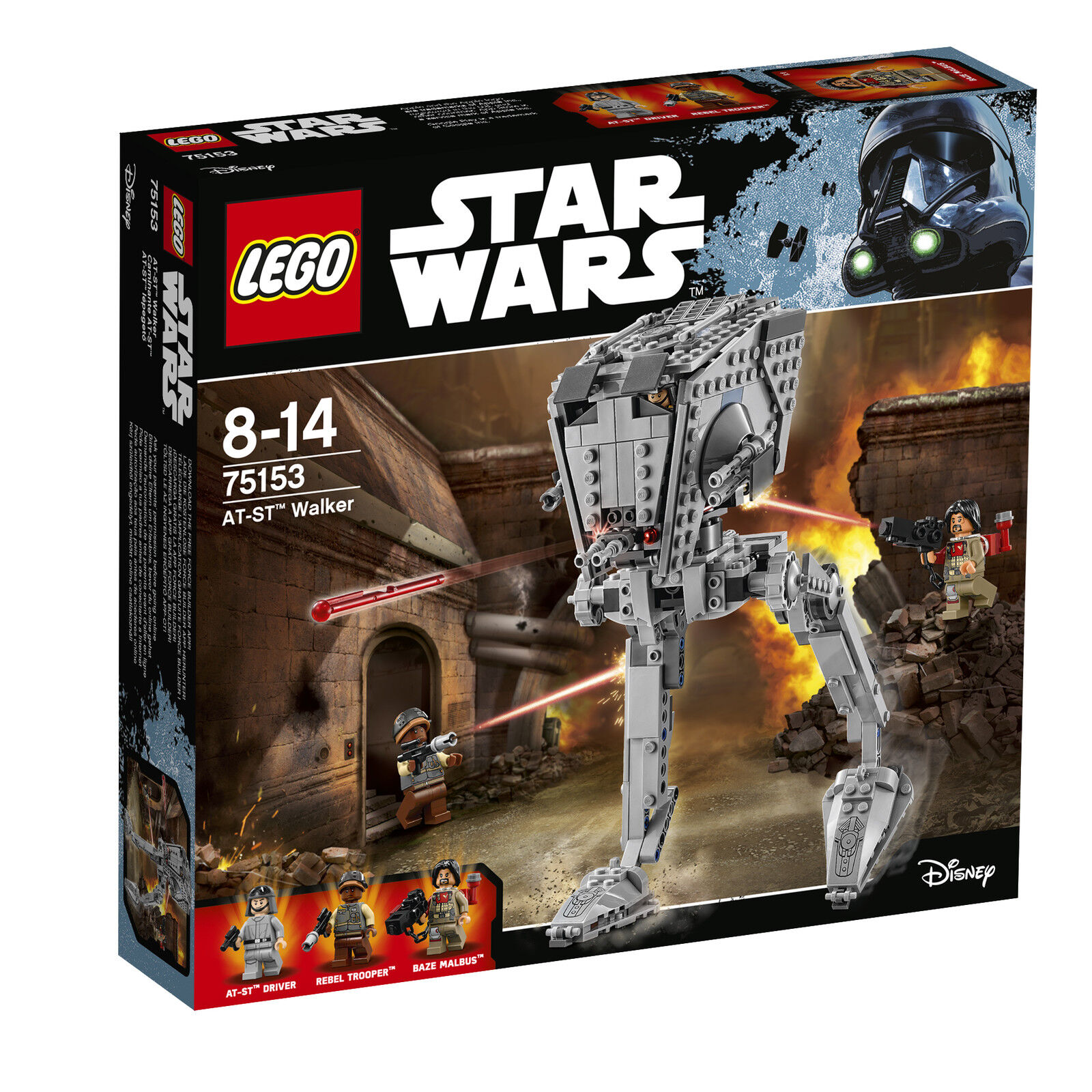 LEGO® Star Wars™ 75153 AT-ST™ Walker NEU OVP NEW MISB NRFB