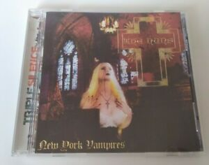 CD-New-York-Vampires-The-Nuns-Goth-Rare-2003-Triple-Silence-Limited