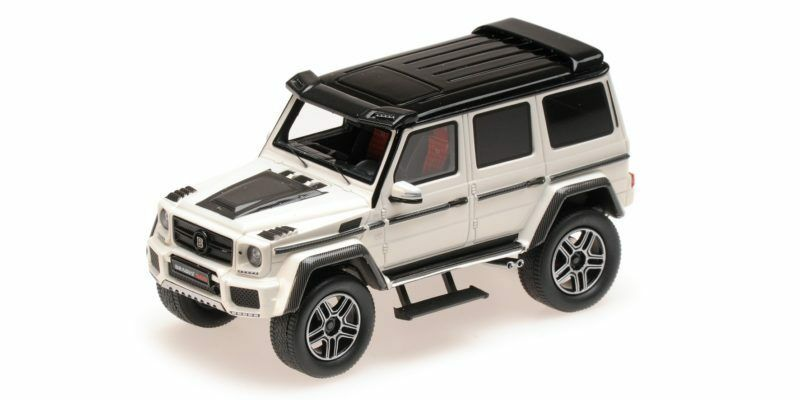 BRABUS 4x4 sur Base Mercedes Benz g500 blanc 2016 1 43 Model MINICHAMPS