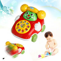 Lovely Cute Kid Toys Music Cartoon Phone Educational Developmental Kids Toy Gift