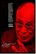 DALAI LAMA ART PHOTO PRINT POSTER GIFT BUDDHISM ZEN SPIRITUAL