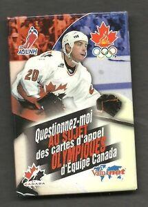 Ebay Canada Carte Hockey.Details About 1998 Team Canada Olympic Phone Card Promo Pin French Joe Sakic