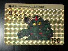 SD GUNDAM SUPER DEFORMED CARD CARDDASS PRISM CARTE 209 BANDAI JAPAN 1989 G+>EX+