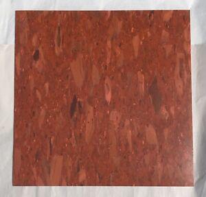 Vintage-Kentile-Vinyl-Asbestos-Chip-Stone-Rust-1192-10-SQ-FT-12x12in-Floor-Tile