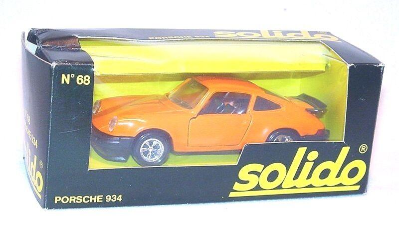 Solido Francia 1 43 Porsche 930 934 Turbo Sport Coche Modelo  68 MIB`75
