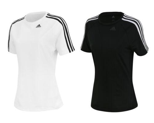 Adidas Women/'s D2M Tee 3S Running Gym Yoga T-Shirt Top BK2686