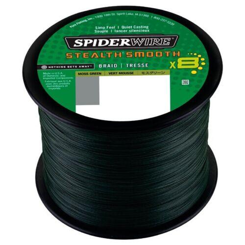 Neue Stärken von Großspule SpiderWire Stealth Smooth 8 50m 0,08€ pro 1m