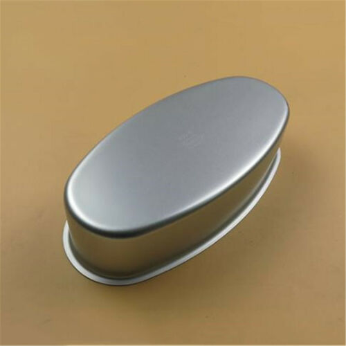 Silver Non Stick Oval Bread Mold Toast Pastry Loaf Pan Baking Tool Tray Bakeware