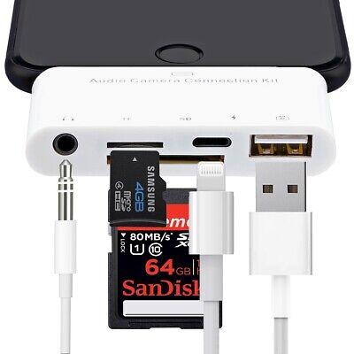 Lightning Adapter Card Reader Hub