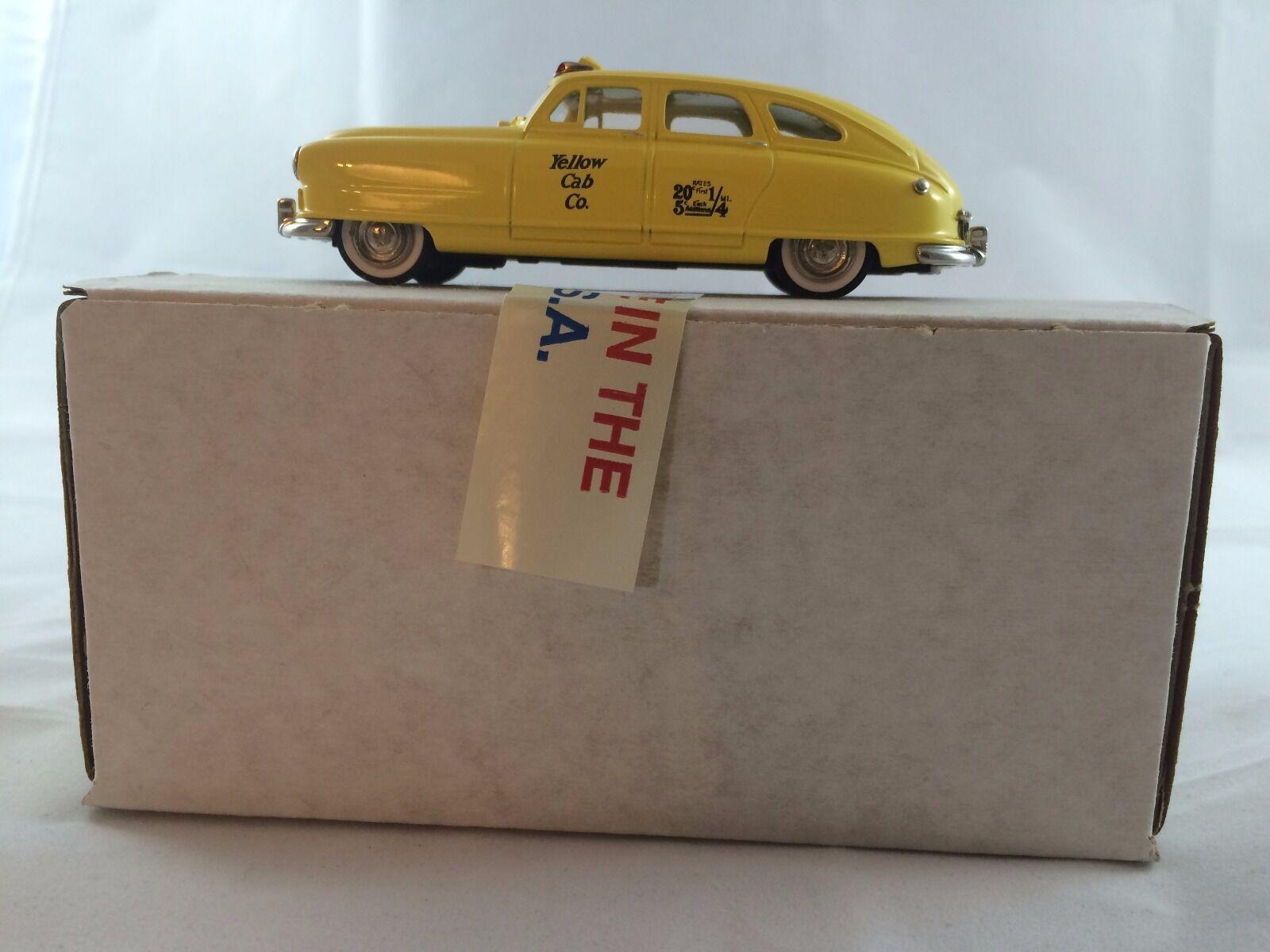 U.S.A. MODELS USA-3T 1949 Nash Yellow Taxi Cab