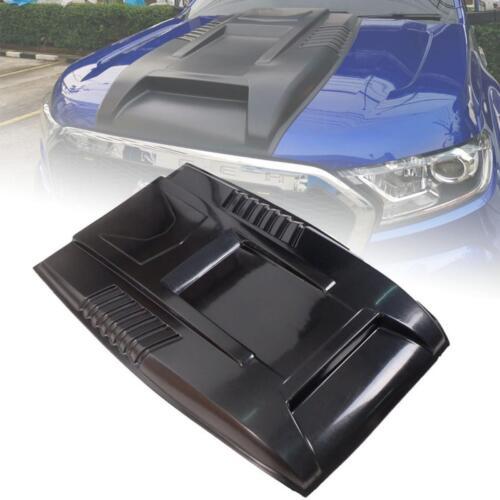 Hood Scoop Bonnet Black Cover For Ford Ranger Wildtrak MK2 XLt XL 2015-2018