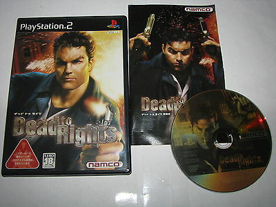 Dead to Rights Playstation 2 PS2 Japan import