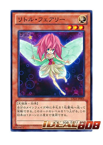 LTGY-JP006 JAPANESE Japanese Mint Common YUGIOH x 3 Little Fairy