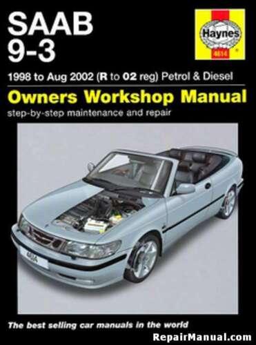 Saab 9-3 Gas Diesel 1998-2002 Haynes Car Repair Manual H4614
