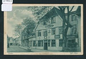 34839) Bahnpost Kiel-lübeck Train 674, Ak Eutin Voss-maison 1922-afficher Le Titre D'origine Style à La Mode;