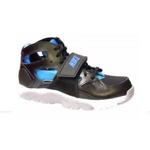 New-Girls-Boys-Nike-Huarache-Shoes-Trainers-Blue-Black-UK-4-4-5-5-5-5