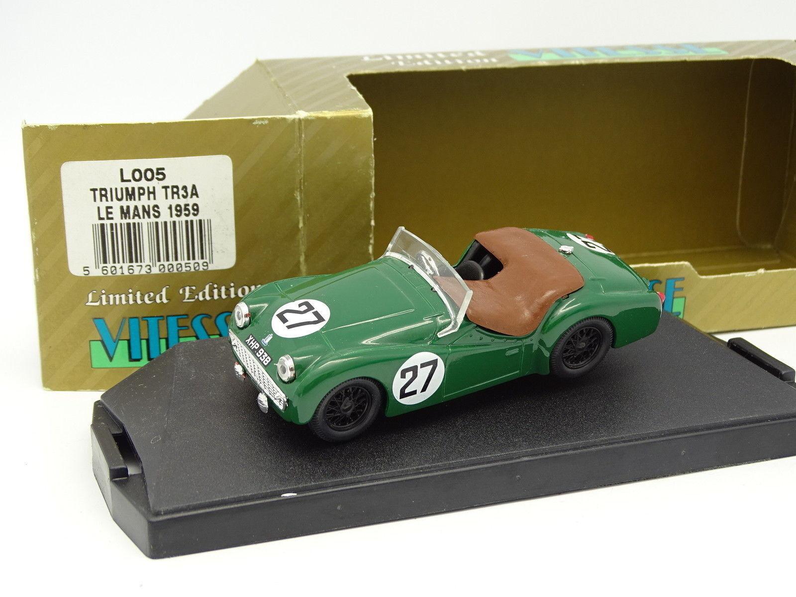 Vitesse 1 43 - Triumph TR3A Le Mans 1959 N°27