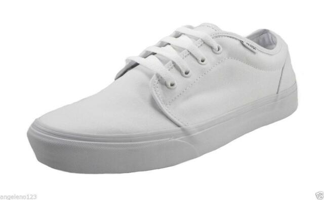 VANS 106 Vulcanized Shoes White Canvas Men Fashion Skate Sneakers VN-099ZW00 f61d005fd