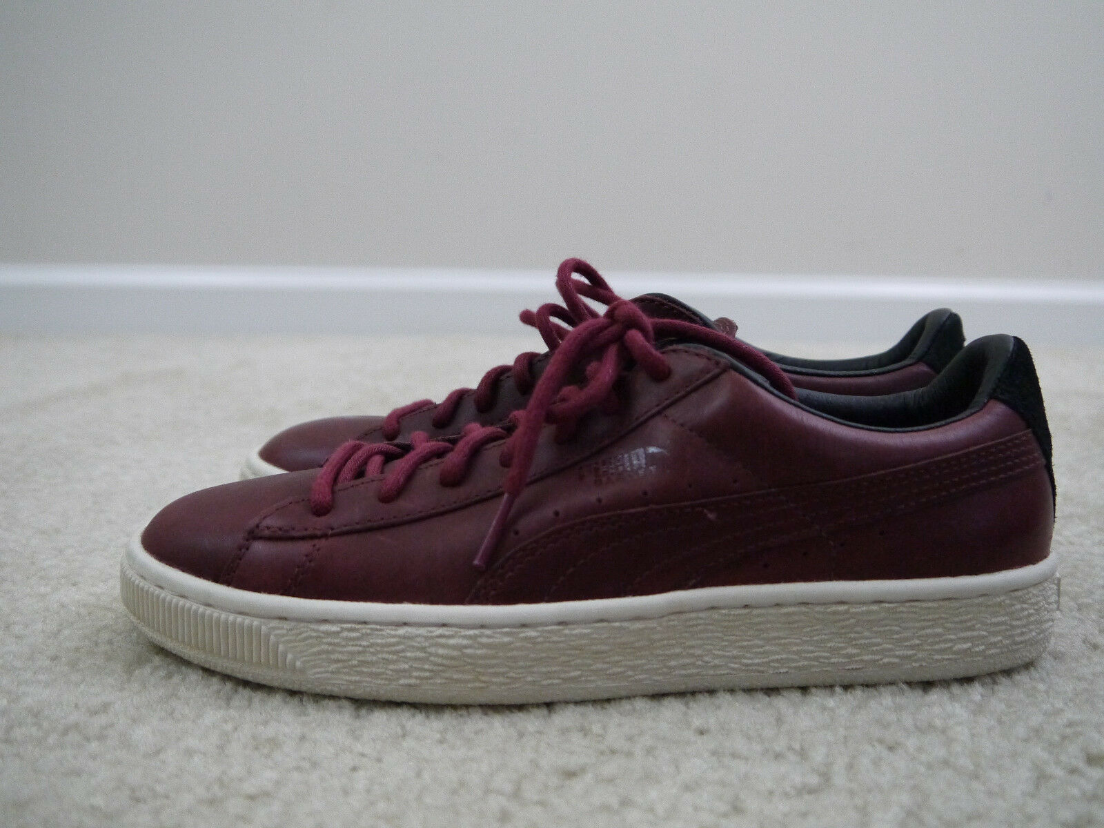Puma Men's Basket Case Citi Series Casual Sneakers Red 7.5 NWOB!