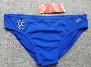 SPEEDO-Endurance-MENS-8cm-Brief-Size-XL-18-90cm-36-039-039-90-years-Blue-BRAND-NEW