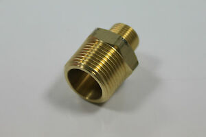 """Lot of 5 New Brass Pipe 3-1//2/"""" Long Nipples Fitting 1//4/"""" Male NPT Air Water"""