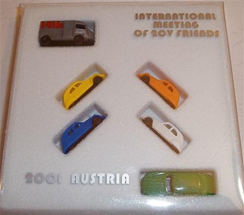 Ds+ Hy + 2cv CITROËN Amis Autriche 2001 Emballage D'Origine N 1 160 Å