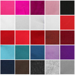 FELT-FABRIC-SOFT-FEEL-SHEETS-ARTS-amp-CRAFTS-25-COLOURS-MULTI-MEDIA-MATERIAL