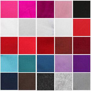 FELT-FABRIC-SOFT-FEEL-SHEETS-ARTS-CRAFTS-25-COLOURS-MULTI-MEDIA-MATERIAL